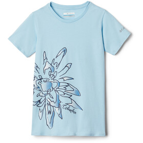 Columbia Peak Point T-Shirt Girls spring blue/side treatment graphic